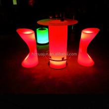 led colored glass furniture