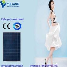 High quality good 600 watt solar panel big portable solar kit 250w poly solar panel for Solar Power System with TUV