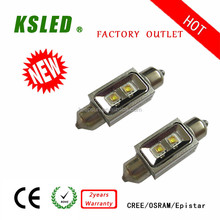 New design Festoon 31 36 39 41mm 10w waterproof led light car 1.5W 3W 5W 10W15W IP67 12V/24V CE ROHS