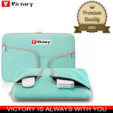 High quality neoprene laptop sleeve 15.6 with handle