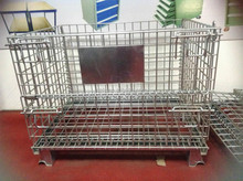 Warehouse Equipment Metal Storage Wire Cages
