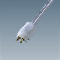 12 volt lighted switches Solderless connectors 2 pin male plug for smd 3528 single color strip light