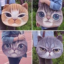Fashion New Designed Spring Winter Women Shoulder Bag Cat Shape Women Handbag Retro Women Bag