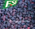 Prix de gros de iqfdice/mûres fraîches de fruits congelés, chinois de fruits congelés 2015 nouvelle récolte