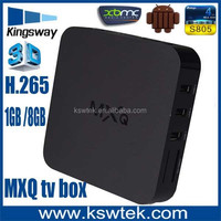 Factory price XBMC streaming mxq tv box full HD 4k zaap tv hd209n set top box
