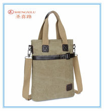 Online New men fashion tote bag discount vintage custom mede canvas handbag