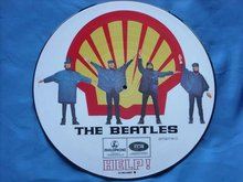 Picture disc The Beatles Help! Shell