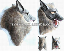 Halloween Horror Animal Masks Latex wolf mask For sale