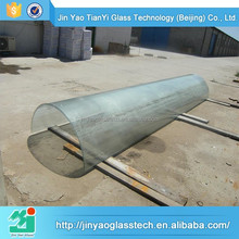 high quality bent glass table