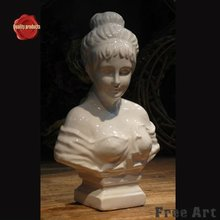 Hand carved character statue