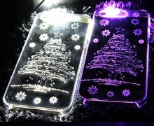 high quality most popular led flashing phone case for Christmas