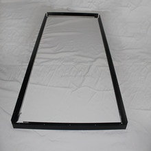Anodized black Aluminum TV frame