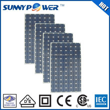 1000v 290w solar panel for solar panel water heater