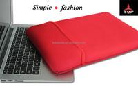hot selling flip leather case for laptop, portable laptop case,neoprene zipper laptop bag sleeve case