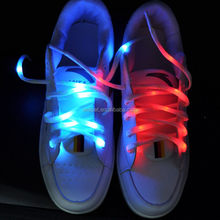 New !High grade led shoelace flashing in promoting activities