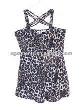 las señoras de moda 2013 impreso culotte vestidos