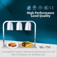 Restaurant Stainless Steel Catering Protable Electric Buffet Food Warmer Lamp
