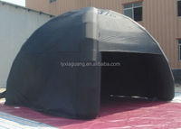 Customized Inflatable Black Dome Tent For Sale IT-048