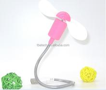 5V computer USB fan New Mini Flexible USB Cooling Cooler Fan for PC Laptop