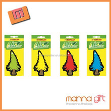 Promotion unscented air freshener paper paper car freshener sexy girl paper air freshener for car