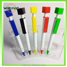 Special plastic ballpen ,square ball point pen