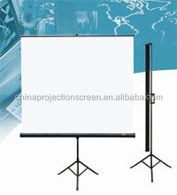 pull up projection screen Stand Matt White protable good quality tripod screen