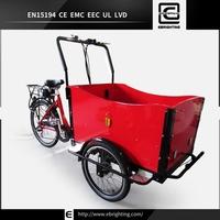 Plastic 3 wheeler BRI-C01 cheap cargo bike trike for sale