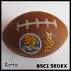 Promotioal printed pu stress ball American football shaped