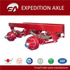 Truck Parts Manufacturer Outboard Drum ISO European Type 12 ton rockwell international axles