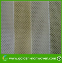 Diamond embossed spunbond non-woven fabric