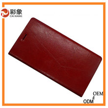 Top grade business leather cover, case for galaxy win i8552