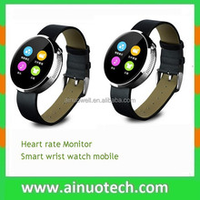 heart rate monitor smart wrist watch S360 bluetooth watch phone for iphone 5 5C 6 6S for android phone