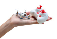 Hubsan H111 4CH 6-axis Gyro Mini RC Quadcopter with LED Light 2.4GHz RTF RC toy