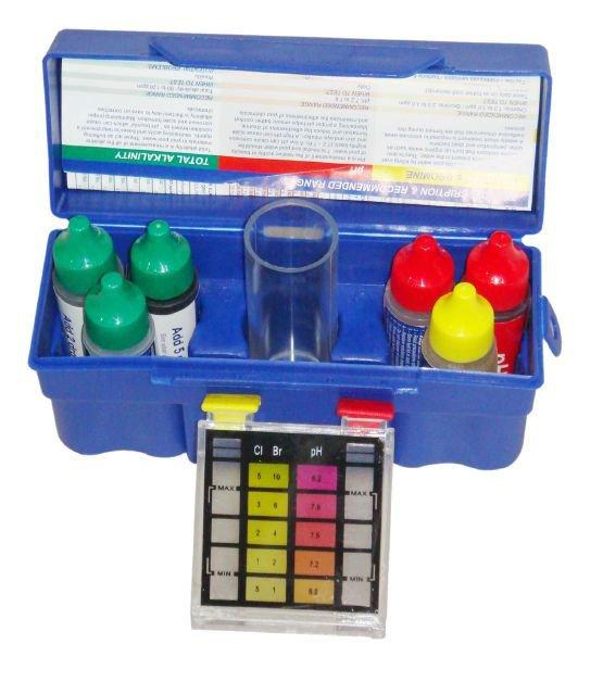 Swimming Pool Rapid Test Kit P1922 Pool Ph Test Kit Rapid Cl Test Kit Digital Aquarium Water