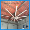 todos os tamanhos fornecedor grande vento grande ventilador de teto industrial especificações
