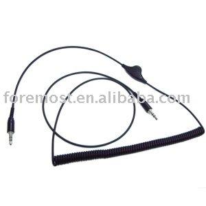 Cable de extensión de audio, Con control de volumen