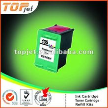 Recycled Ink Cartridge for HP135 C8766H(Type135 Remanufactured Ink Cartridge)