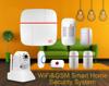 IP based cloud wireless WIFI home burglar GSM security alarm system
