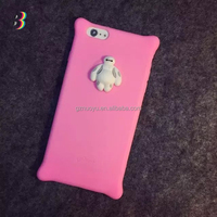 fashion 3d baymax cell phone case for iphone 6 and 6 plus with popular 3d images