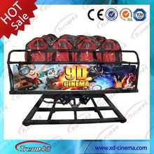 5d moving seat theater China new product roller coaster system thrilling 7d cinema 9d cinema for sale