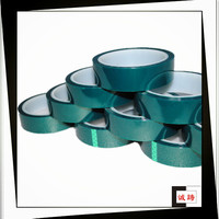 ISO9001&14001 Certified Green Similar 3M Polyester Tape 8403 For Powder Coating