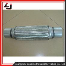 Ruido y reducción de la vibración del motor de Auto 2.5 pulgadas de acero inoxidable tubo de escape 304