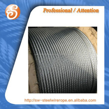 Boat used steel wire ropes