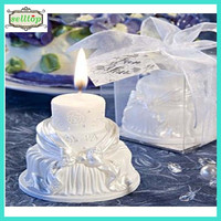 Hot sell cake shape candle wedding giveaways philippines