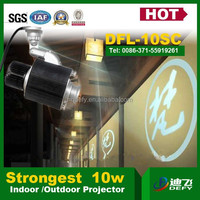 indoor or outdoor 10w led GOBO projector letter projector