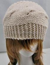 Croched Extra Wide Headband Head Wrap Knitted Winter Warm Headscarf Durag Turban