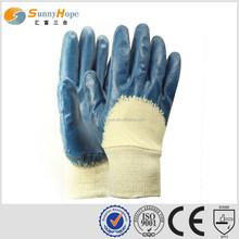 sunnyhope Warehouse work flat nitrile coated general purpose gloves