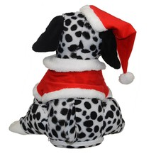 Customized christmas Electronic Dancing and Singing Dog baby Plush Doll Toy