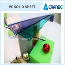Opal polycarbonate solid roof sheet