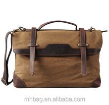 Men Canvas Messenger Bag,Shoulder Bag for 15.6 Inch Laptop